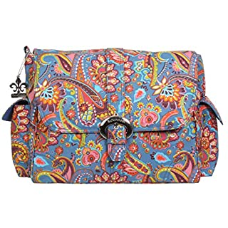 Kalencom Matte Coated Buckle Bag, Cassandra Paisley
