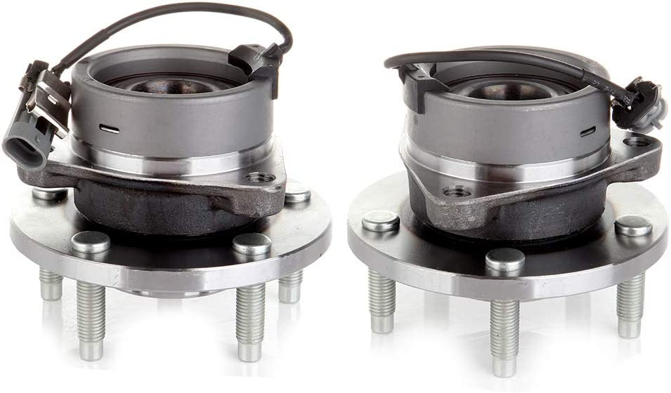 OCPTY 2pc 513206 Front Wheel Bearing and Hub Assembly fit for With ABS 2005-2010 Chevrolet Cobalt 2006-2011 Chevrolet HHR 2007-2010 Pontiac G5 2005-2006 Pontiac Pursuit 2004-2007 Saturn Ion