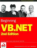 Beginning VB. NET, Richard Blair and Jonathan Crossland, 0764543849