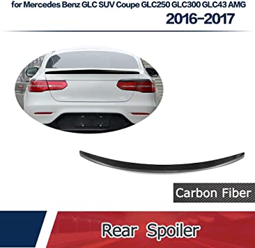 Cuztom Tuning Fits for 2015-2019 Mercedes Benz GLE43 GLE63 GLE Coupe Carbon Fiber Trunk Lid Spoiler Wing