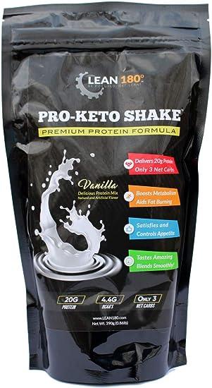 Pro-Keto Shake! Mejor batido de proteína baja en carbohidratos ...