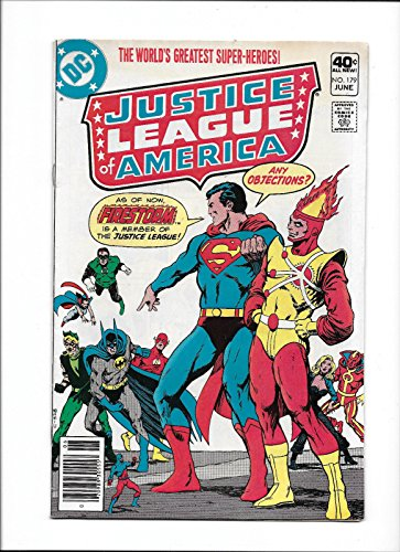 JUSTICE LEAGUE OF AMERICA #179 [1980 VG]