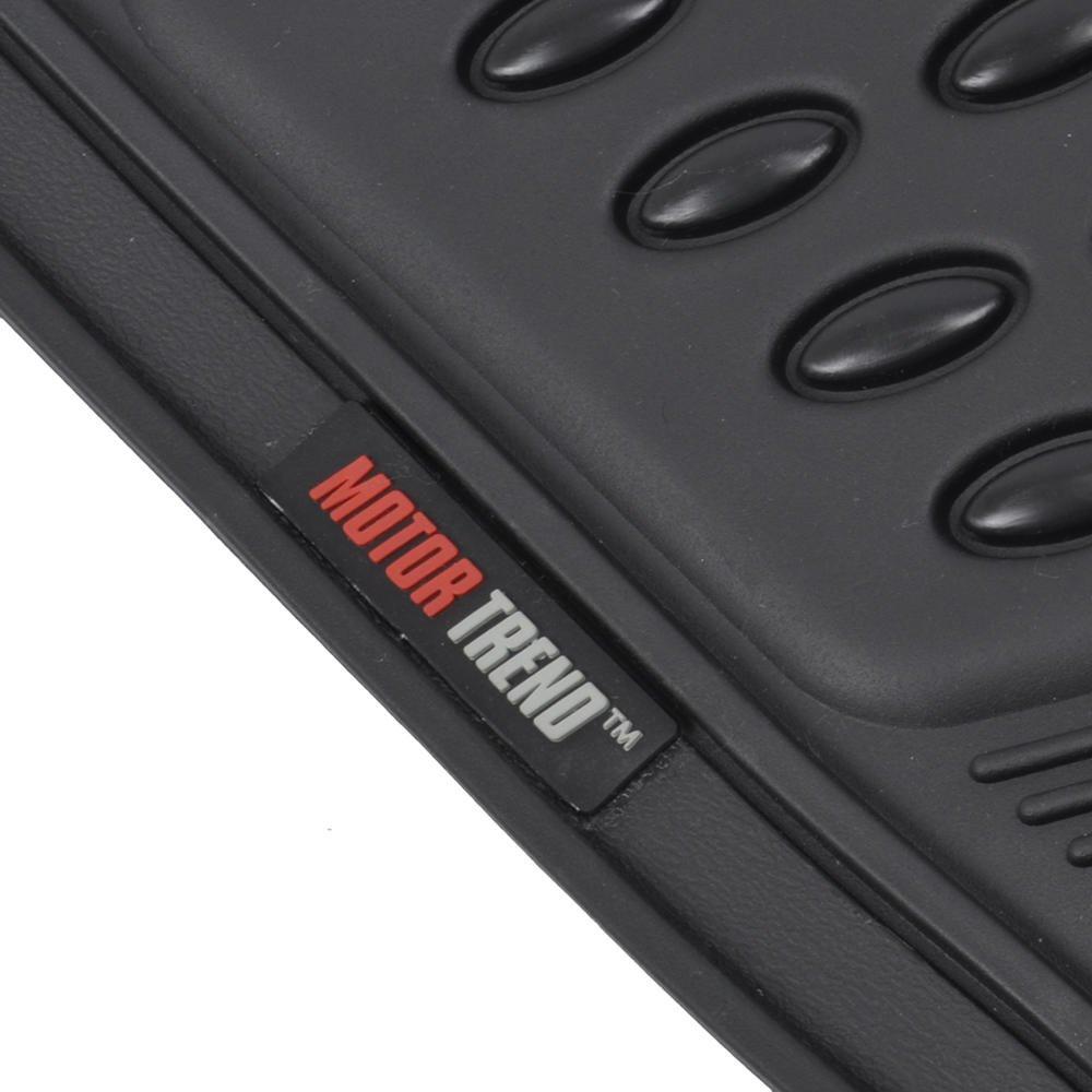 Motor Trend MT754BGAMw1 FlexTough Heavy Duty Car Floor Mats Beige 4 PC 100/% Odorless /& All Weatherproof