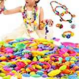 370Pcs Pop Beads Set Gifts Toy - Diy Building Blocks Jewelry Accessories Arty Set Toys for Children Kids Intelligence Education