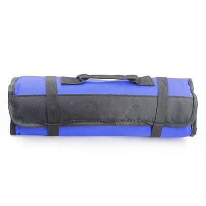 Bolsa para herramientas plegable, 22 bolsillos, alicates de llave ...