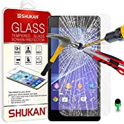 Sony Xperia Z2 Tempered Glass Crystal Clear LCD Screen Protector Guard & Polishing Cloth GSVL37 BY SHUKAN®, (Sony Xperia Z2)
