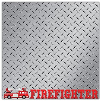 SET: Thin Red Line Flag Stickers (fire scrapbook firefighter decal)