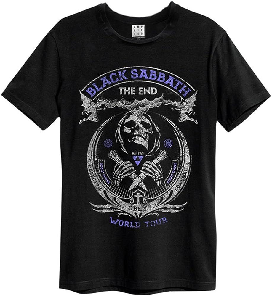 black sabbath the end t shirt