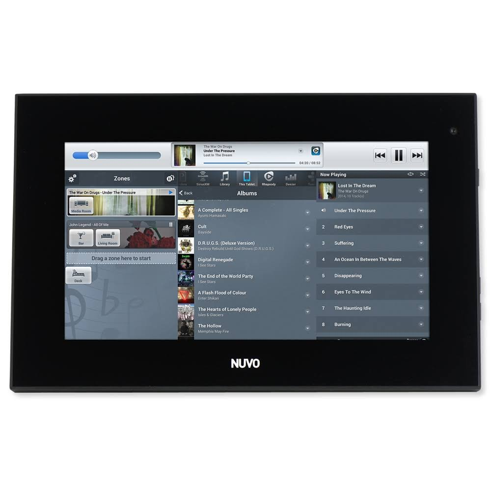 Legrand Nuvo NV-P30 7 in. Android PoE Touch Screen, Black NV-P30-BK