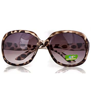 a73770054b1 Image Unavailable. Image not available for. Color  Adele s Toddler Girl  Brown Leopard Print Fashion Sunglasses