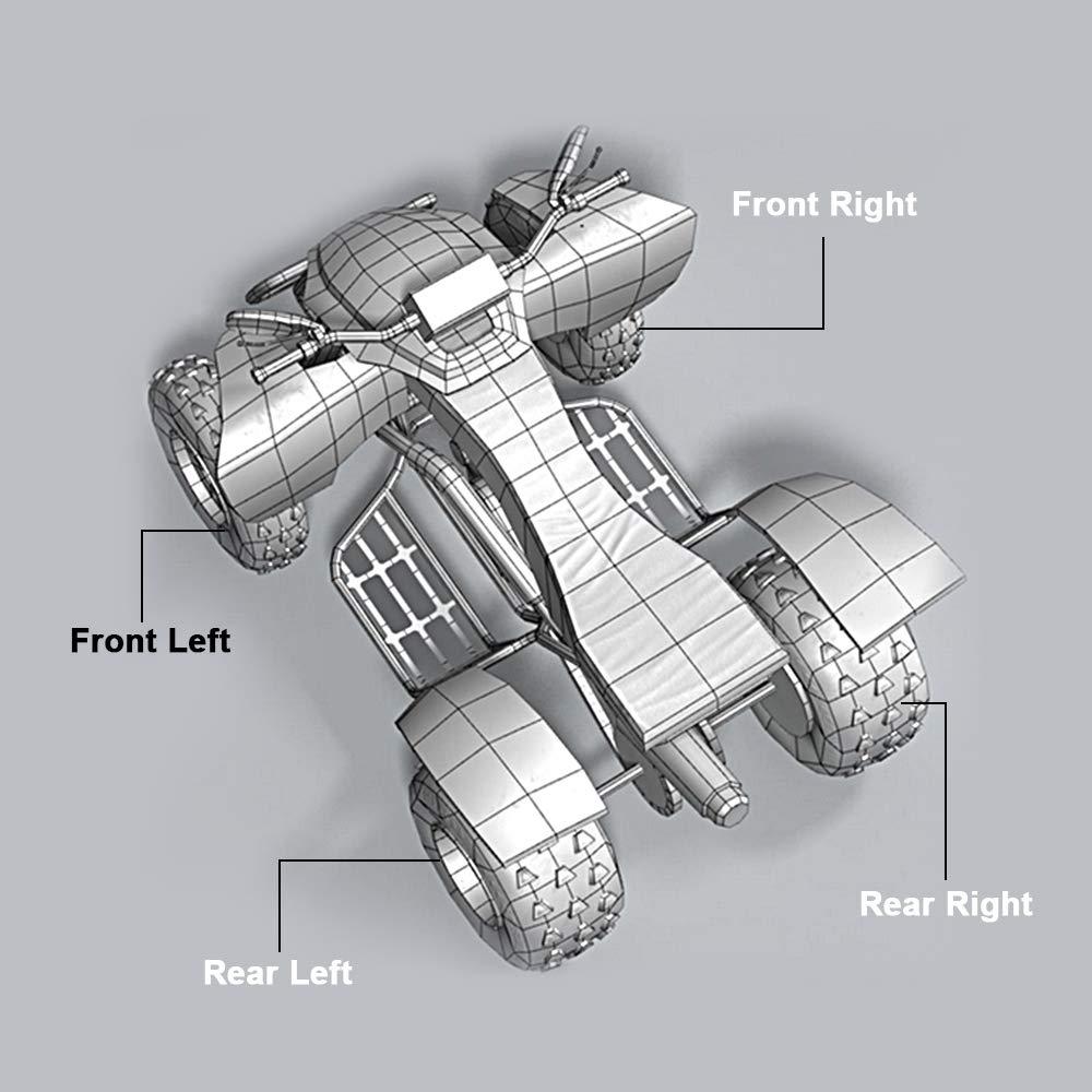 2007-2014 CAN AM OUTLANDER MAX 500 4X4 REAR LEFT PERFORMANCE ATV CV AXLE