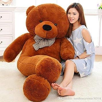 R K GIFT GALLERY Cute Plush Teddy Bear Huge Plush Animals Teddy Bear for Girl Children Girlfriend Valentines Day - 3 Feet (91 cm, Brown)