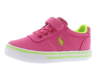 c1e586490 Polo Ralph Lauren Kids Hanford EZ Sneaker (Infant Toddler Little Kid ...