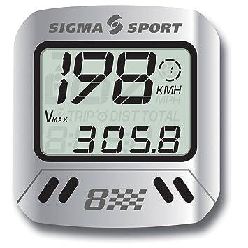 Sigma MC8 MTB - Cuentakilómetros: Amazon.es: Deportes y aire libre