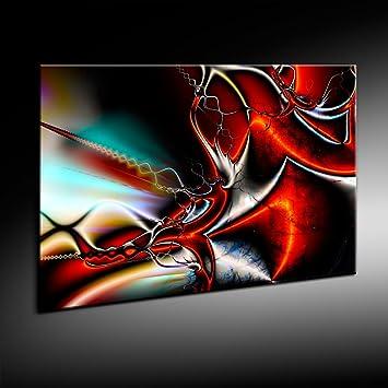 Abstrakt 3D Leinwand Bild 121x81cm von artfactory24 fertig auf ...
