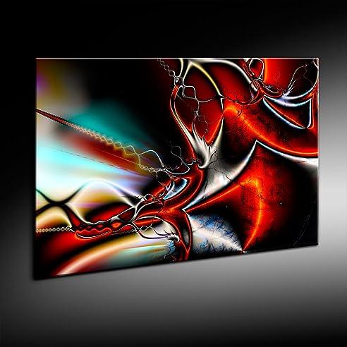 Abstrakt 3D Leinwand Bild 121X81Cm Von Artfactory24 Fertig Auf