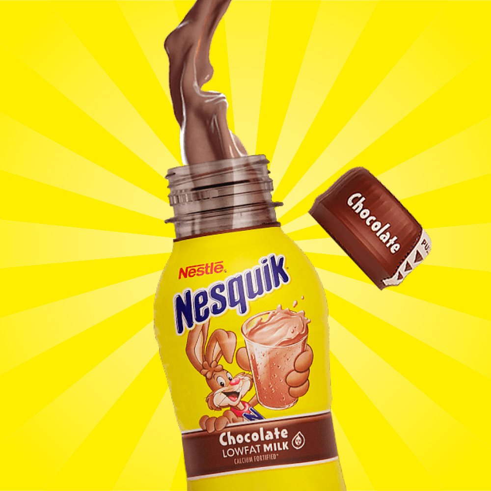 Chocolate Milk After Workout Nesquik
