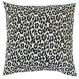 The Pillow Collection Black Olesia Animal Print Bedding Sham, King/20'' x 36''