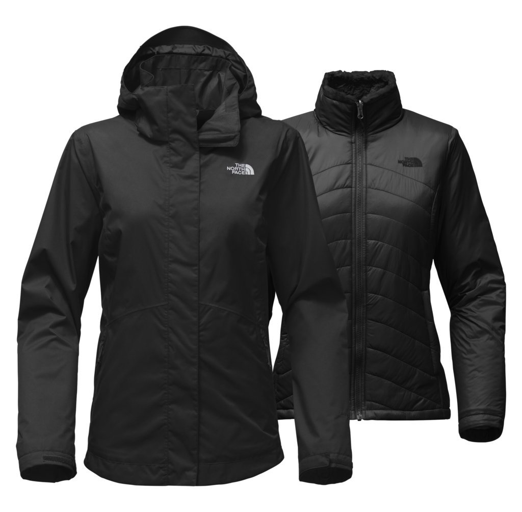 The North Face Women's Mossbud Swirl Triclimate Jacket - TNF Black - L