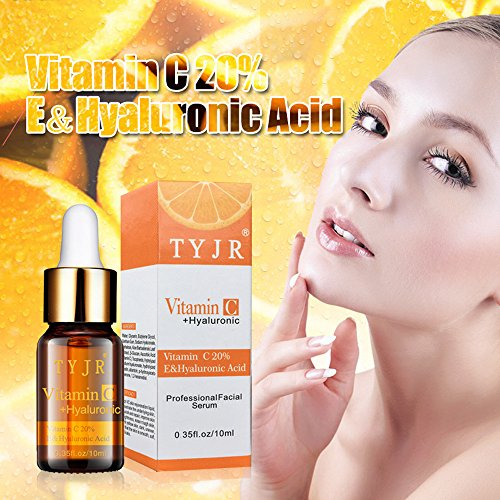 (Hot Vitamin C Liquid Serum Anti-aging Whitening VC Essence Control oil essence Moisture Whitening VC Essence for uneven skin tone,dull yellow and pigmentation skin (VC essence, aloe) (A))