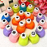 Craft Punches Machine for Art and Craft Project Assorted Shapes/Kids B'Day Return Gift (8 Pcs. Set) -Big Size