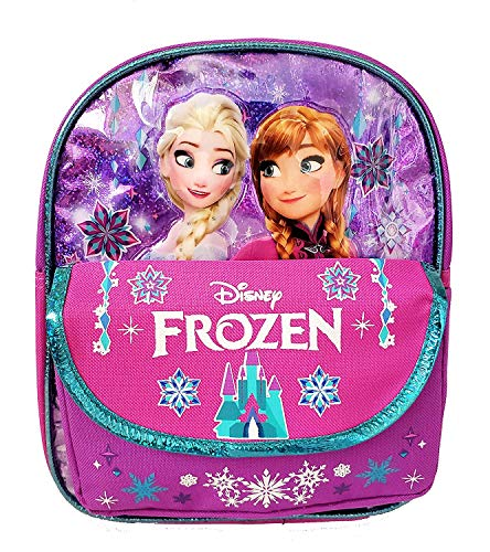 Disney Frozen Small Toddler 10 inch Backpack - Elsa and Anna