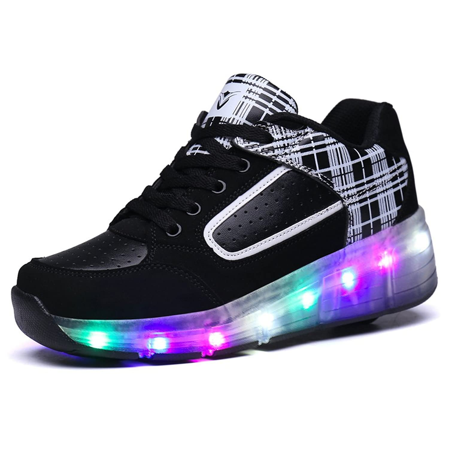 Roller shoes london - Girls Boys Led Wheel Roller Shoes Retractable Roller Skate Shoes Kids Sneakers Amazon Co Uk Shoes Bags