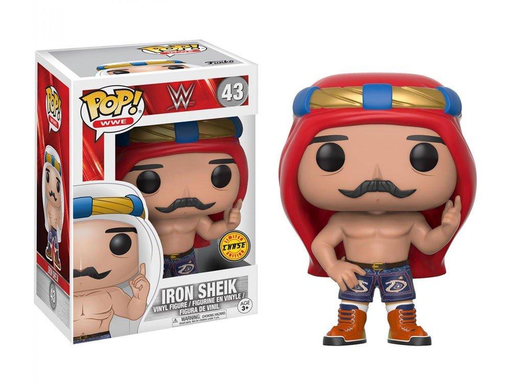 ahorra hasta un 70% Third Party - Figurine WWE - Iron Sheik Chase Chase Chase Pop 10cm - 3700936111005  últimos estilos