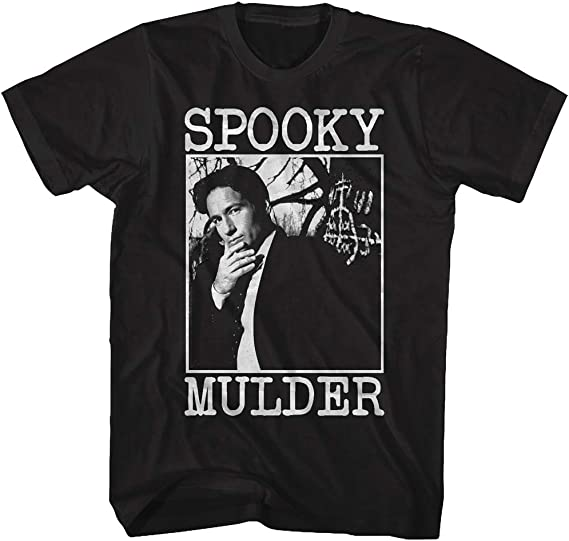 X Files Horror Sci FI Thriller TV Series Spooky Fox Mulder