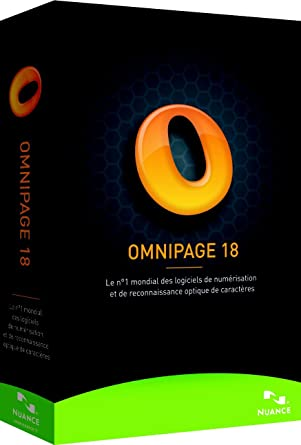 18 OMNIPAGE TÉLÉCHARGER NUANCE