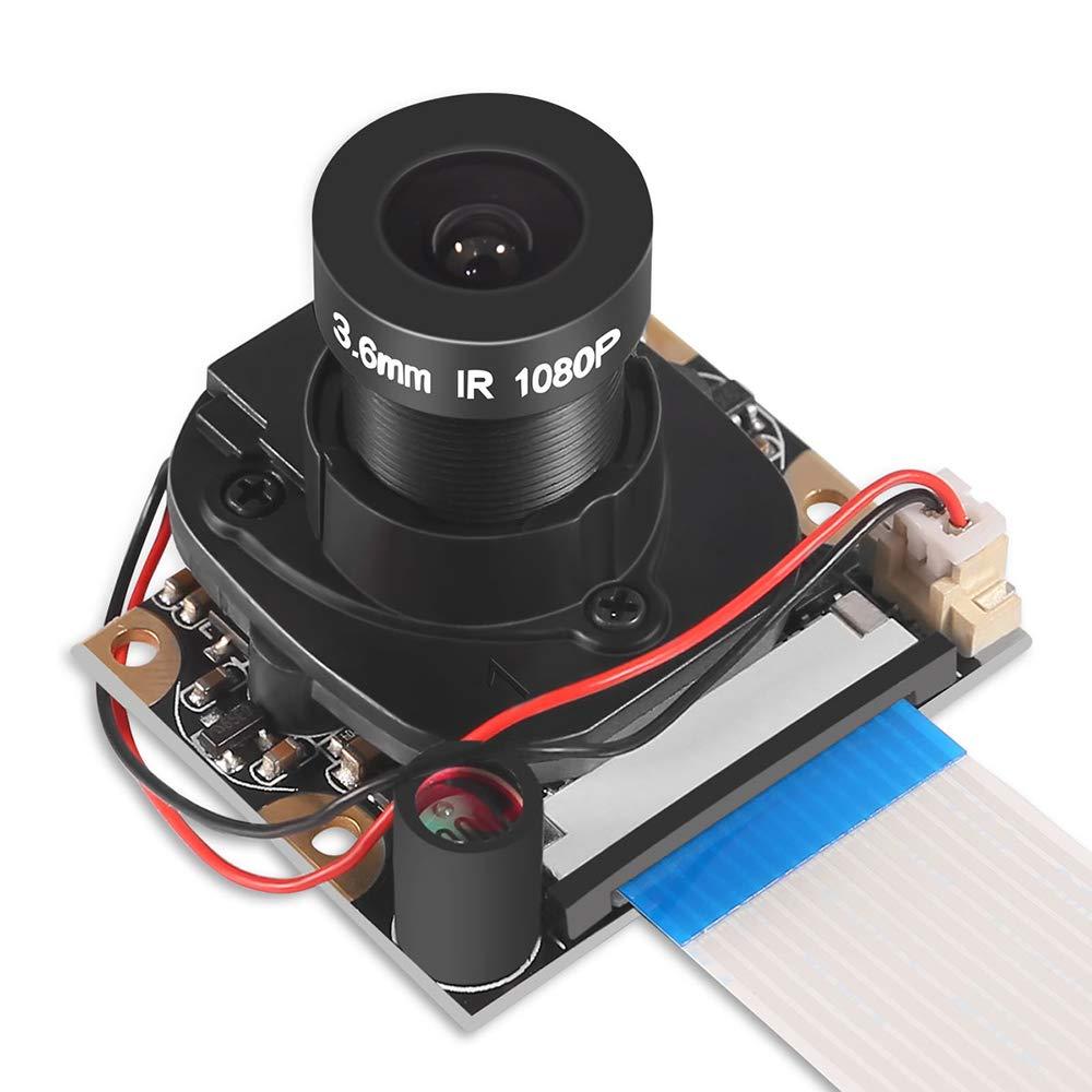 Dorhea Raspberry Pi 3 Model B+ Camera Module Automatic...