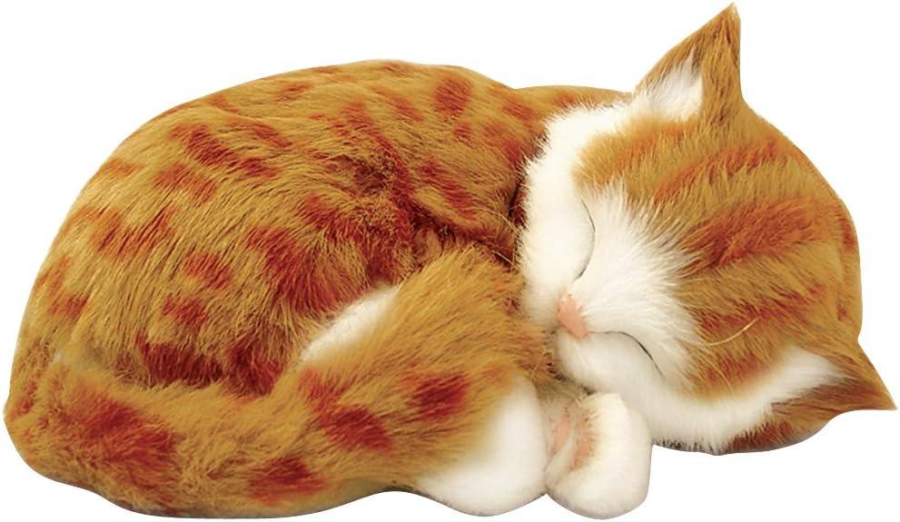 Perfect Petzzz Huggable Breathing Kitty Cat Pet Orange Tabby