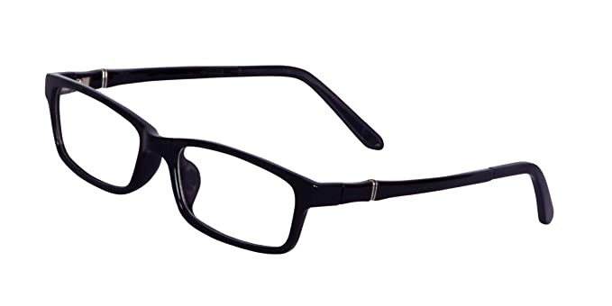 Buy Lensport Eyewear Rectangular Black TR90 Full Rim Spectacle Women's and  Men's Frames Specs (51; Transparent) at Amazon.in