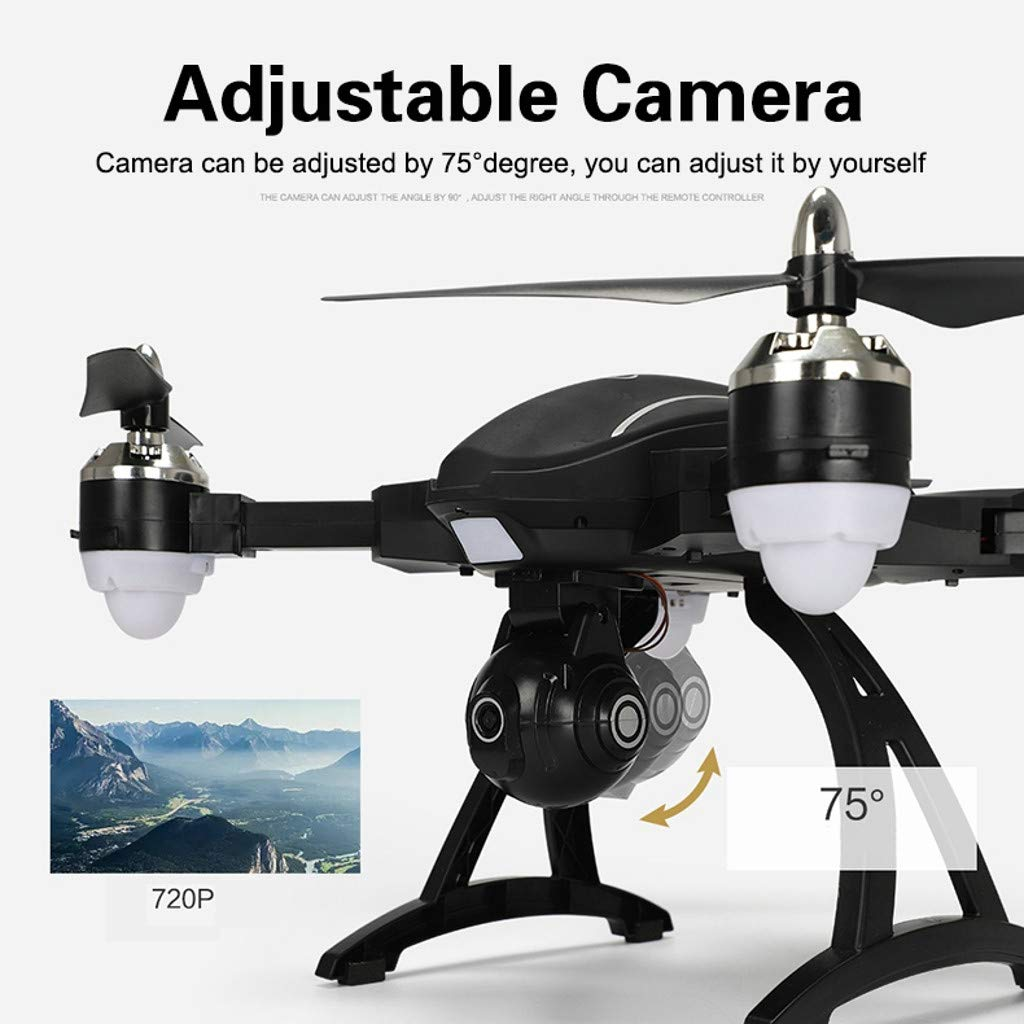 MOZATE LE IDEA LD-220 Foldable 2.4Ghz 2MP WiFi FPV 720P HD RC Quadcopter Selfie Drone (Black) by MOZATE (Image #7)