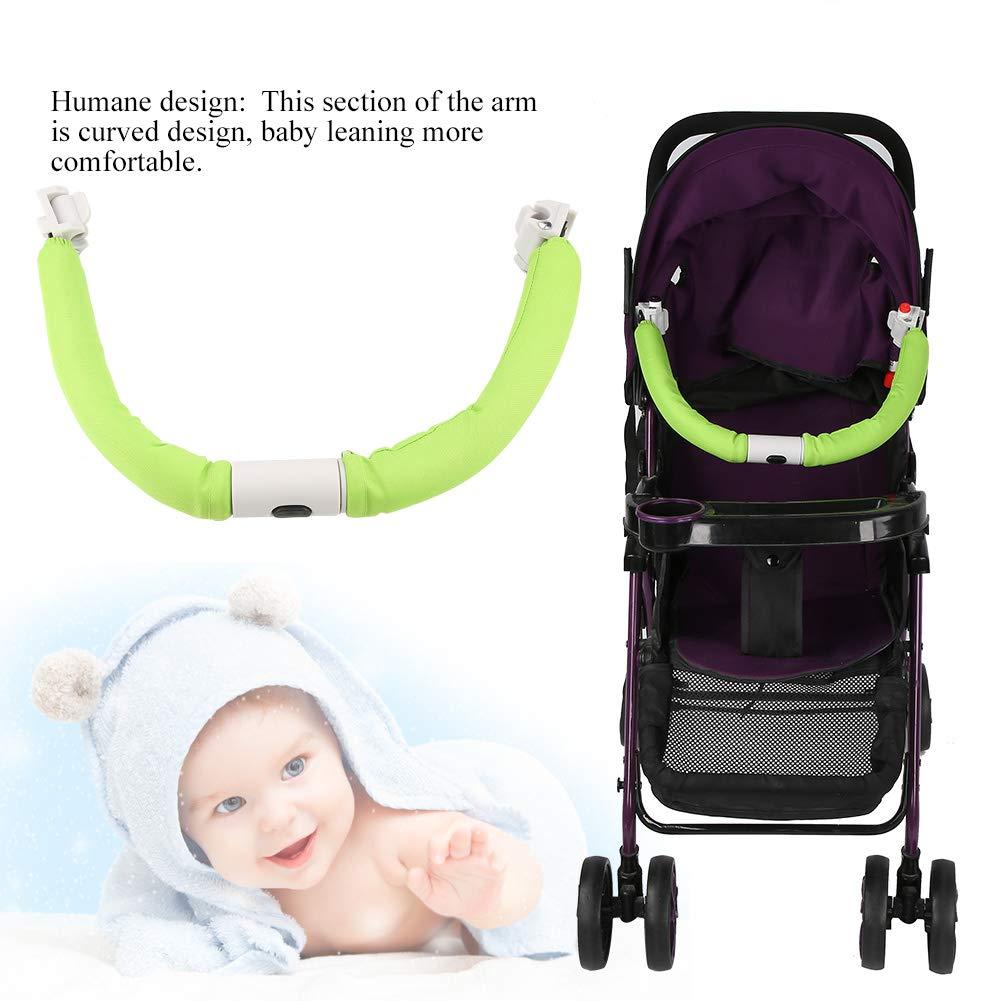 Camidy Universal Baby Stroller Bar Stroller Handlebar Armrest Security Safety Bumper Bar Crossbar