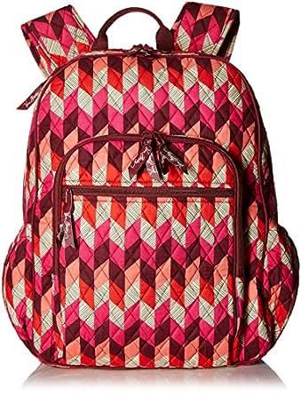 Women's Campus Tech Backpack, Signature Cotton, Bohemian Chevron