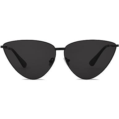 SOJOS Gafas De Sol Metal Para Mujer Ojo De Gato Retra Moderna SJ1091