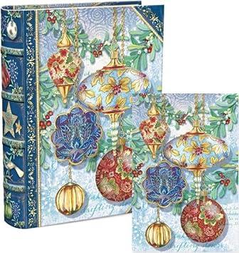 amazon com punch studio christmas ornament book box holiday cards