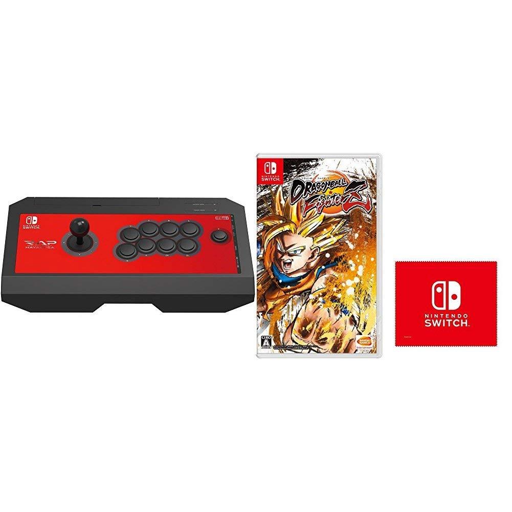 【Nintendo Switch対応】リアルアーケードPro.V HAYABUSA for Nintendo Switch + ドラゴンボール ファイターズ - Switch (限定特典付) セット B07HR2YDCP