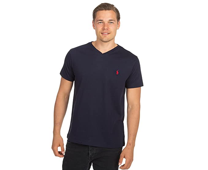 460d3e1fc Image Unavailable. Image not available for. Color: Polo Ralph Lauren Mens  Classic Fit V-neck T-shirt ...