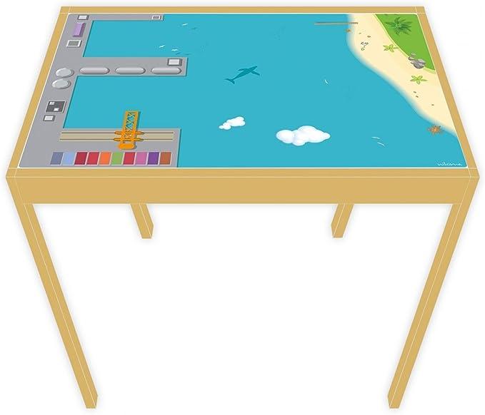 nikima – Película de juego para muebles para Ikea Lätt, mesa de ...