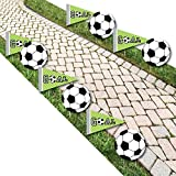 GOAAAL! - Soccer Lawn Decorations - Outdoor Baby Shower or Birthday Party Yard Decorations - 10 Piece