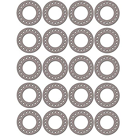 1//16 Thick Pressure Class 300# Pack of 20 20 Pipe Size 20 Pipe Size 1//16 Thick 20 ID Sterling Seal CFF7540.2000.062.300X20 7540 Vegetable Fiber Full Face Gasket Supplied by Sur-Seal Inc 20 ID Pack of 20 of NJ