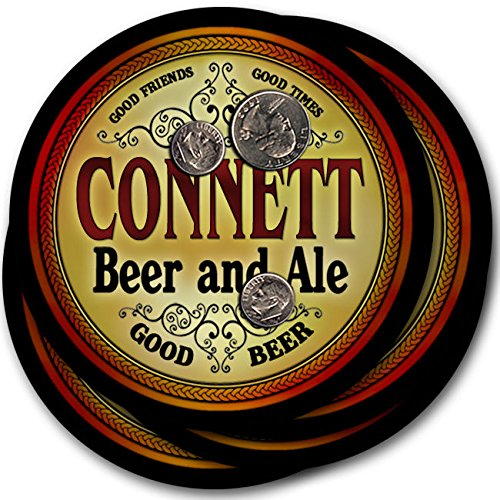 Connett Beer & Ale - 4 kitbag Drink Coasters