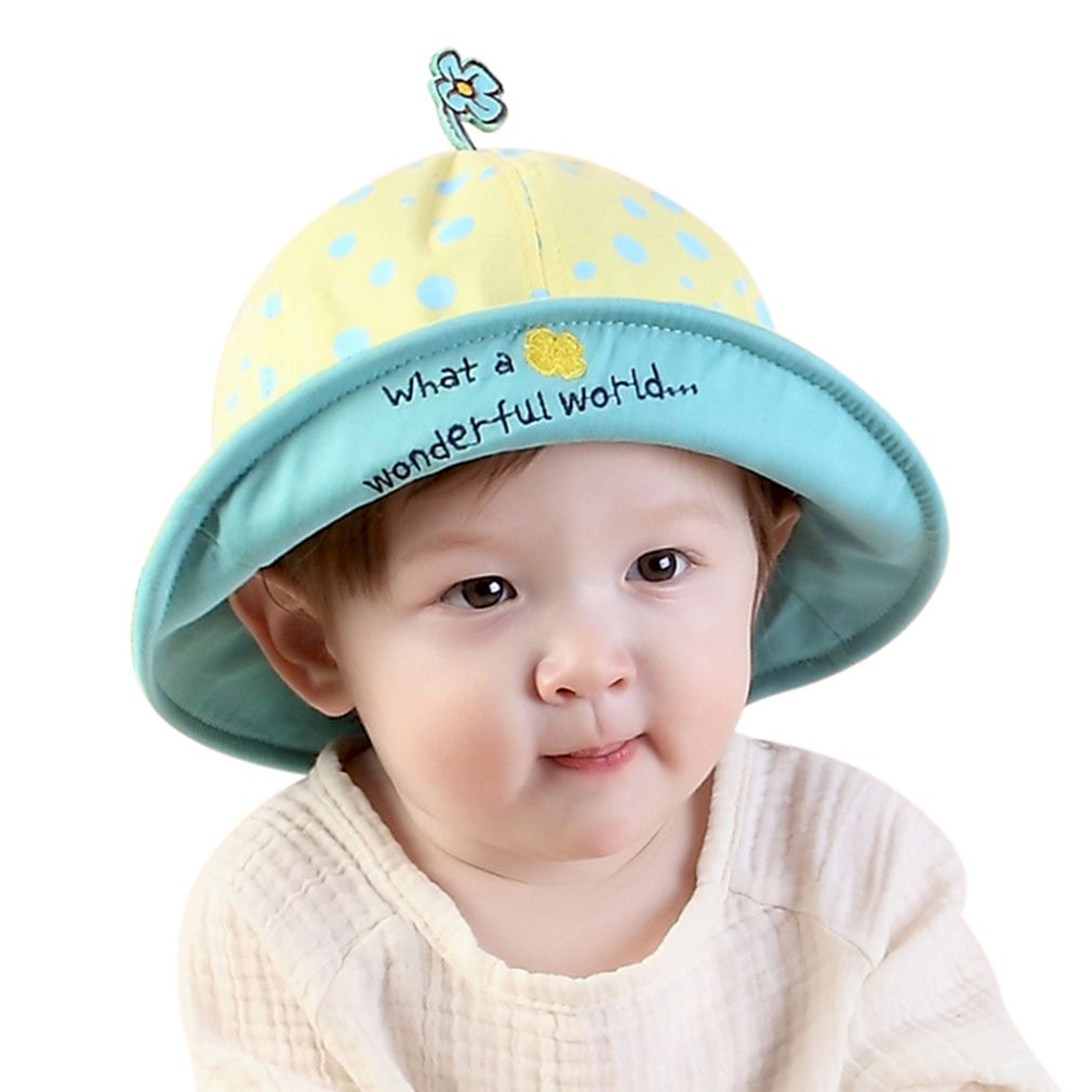 Toddlers Sun Hat Pattern Kids Sun Hat Children Hat Yellow