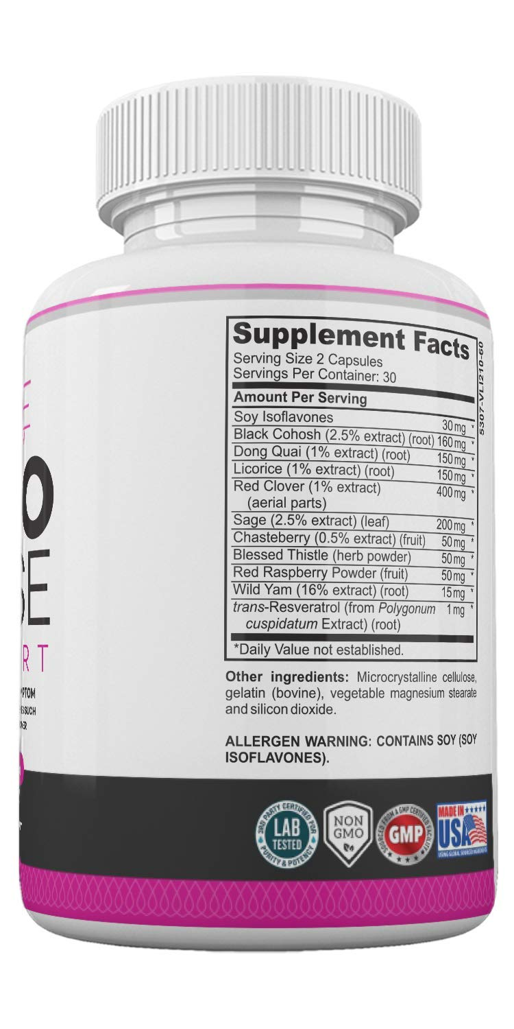 Menopause Relief Hormone Balance for Women Supplement for ...
