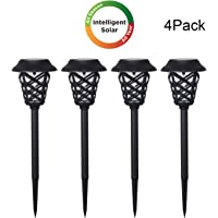 4-Pack Westinghouse Intelligent LED Solar Powered Pathway Lights