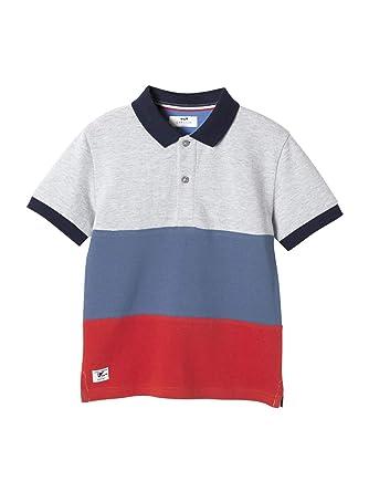 e7b41b5d82dbfe Cyrillus Jungen-Poloshirt, Colorblock: Amazon.de: Bekleidung