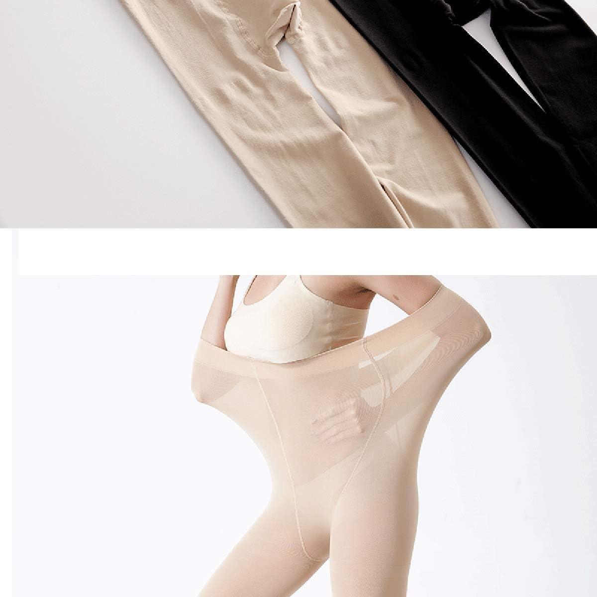 Yulaixuan donna 2 paia Collant taglie forti 120 denari completo lunghezza collant rinforzato coprente pantaloni spessi pantaloni leggings invernali