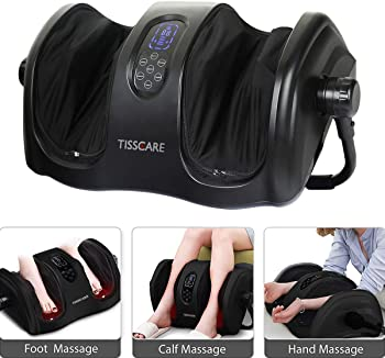 TISSCARE Foot Massager Machine with Heat